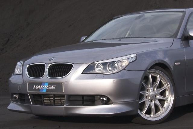 Накладка на передний бампер Hartge для BMW 5-series (E60/61)
