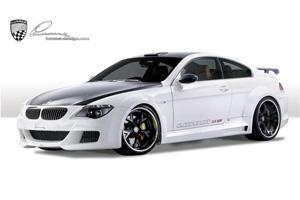 Аэродинамический обвес Lumma CLR 600 для BMW 6-series (E63/64). Тюнинг BMW E63 E64