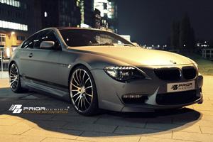 Аэродинамический обвес Prior Design 6 для BMW 6-series (E63/64). Тюнинг BMW E63 E64