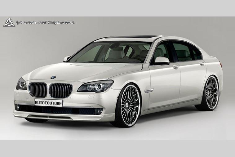 Накладка на передний бампер Auto Couture Noble Line для BMW 7-series (F01/02). Тюнинг BMW 7-series (F01/02)