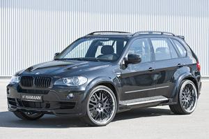 Аэродинамический обвес Hamann Flash EVO для BMW X5 (E70). Тюнинг BMW X5 (E70)