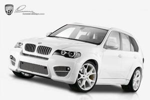 Аэродинамический обвес Lumma CLR X 530 для BMW X5 (E70). Тюнинг BMW X5 (E70)