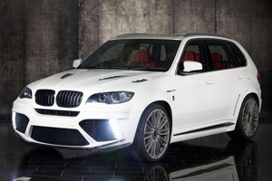 Аэродинамический обвес Mansory для BMW X5 (E70). Тюнинг BMW X5 (E70)