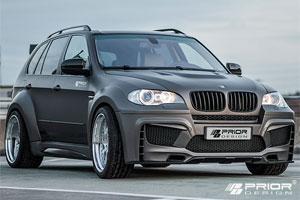 Аэродинамический обвес Prior Design для BMW X5 (E70). Тюнинг BMW X5 (E70)