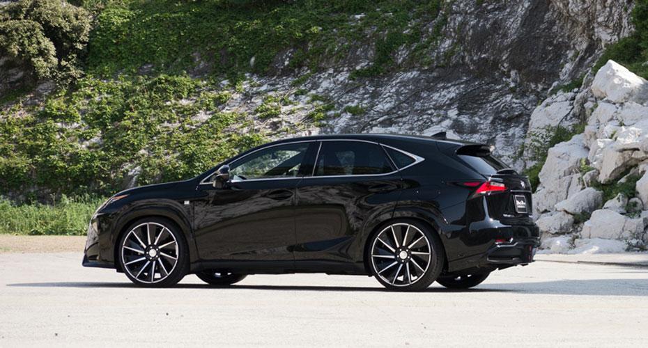Lexus nx f sport black