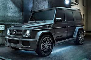 Обвесы на Mercedes G W463, тюнинг Mercedes W463, обвесы на ...