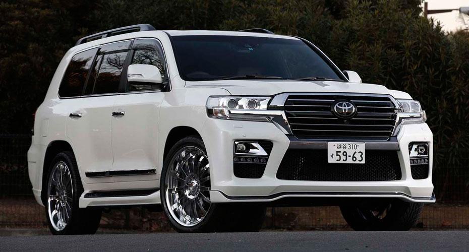 Modellista Toyota Land Cruiser 200 Lc200 2016 2017 2017
